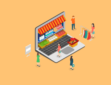 The pros and cons of two ways of entering e‑commerce in China