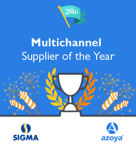 Azoya Awarded Multichannel Supplier of the Year by Sigma