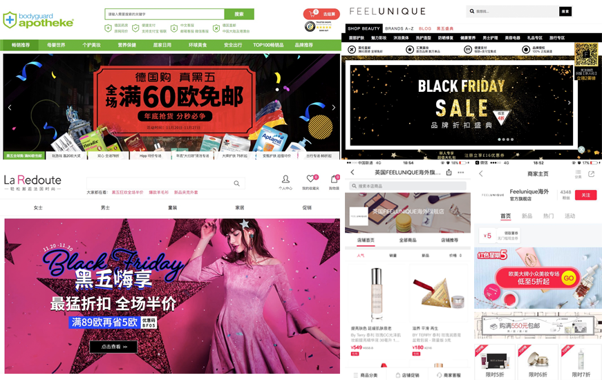 Azoya launched tailored campaigns for retail partners during Black Friday sales