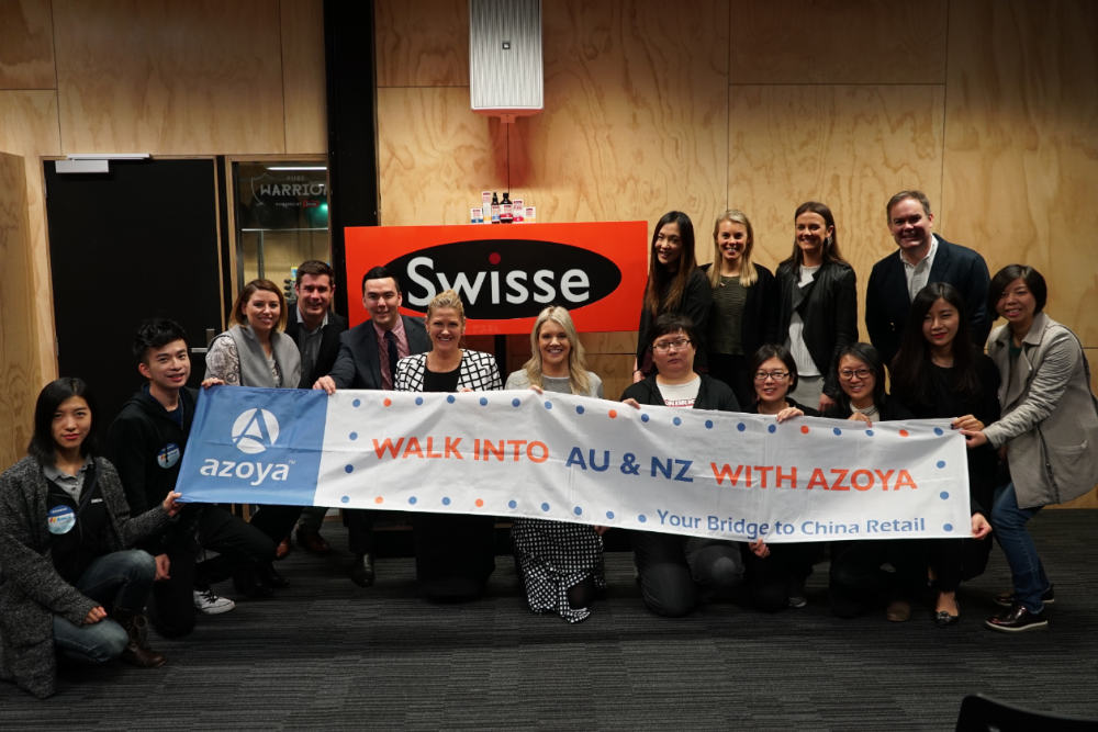 walk into anz campaign online influencers from china visit swisse