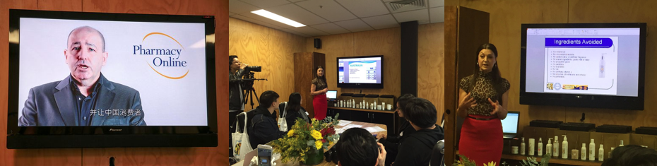 walk into anz campaign online influencers from china visit pharmacy online