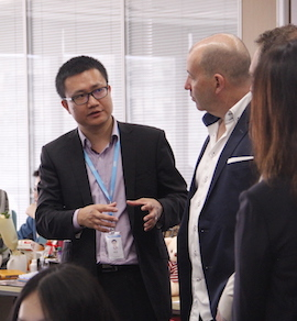 Guests From Pharmacy Online Visited Azoya Head Office