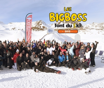With Fun And Expectation, Azoya Attended Les Bigboss Font Du Ski 2015