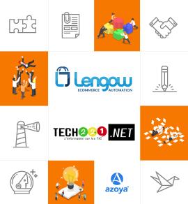 E-commerce: un partenariat entre Lengow et Azoya